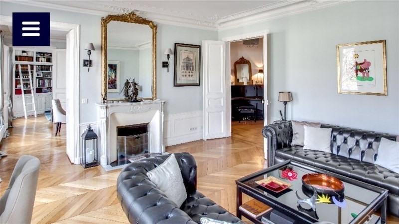Vente de prestige appartement Paris 17ème 1990000€ - Photo 1