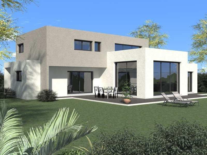 Maison  5 pièces + Terrain 800 m² Saint-Paul-et-Valmalle par Domitia Construction