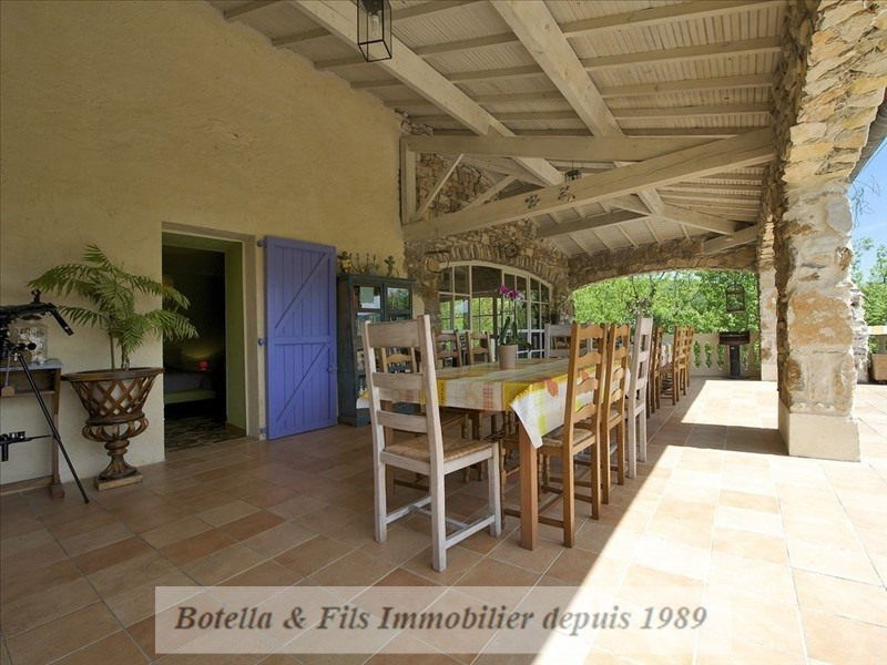 Immobile residenziali di prestigio casa Barjac 630000€ - Fotografia 2