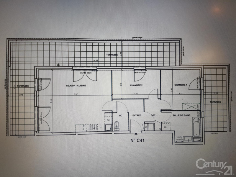 Vente appartement Lyon 7ème 408000€ - Photo 1