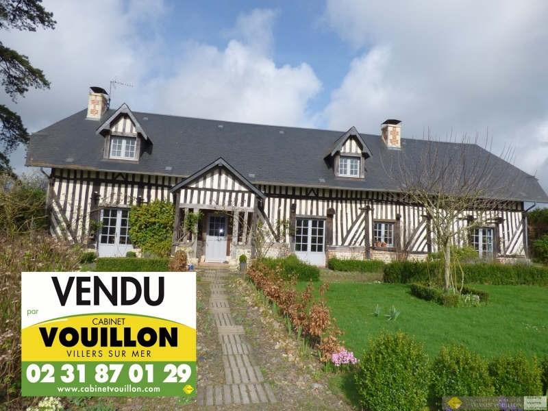 Vente de prestige maison / villa Douville en auge 630000€ - Photo 1