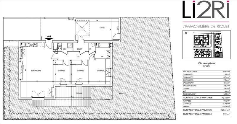 Vente maison / villa Villeneuve tolosane 290000€ - Photo 4
