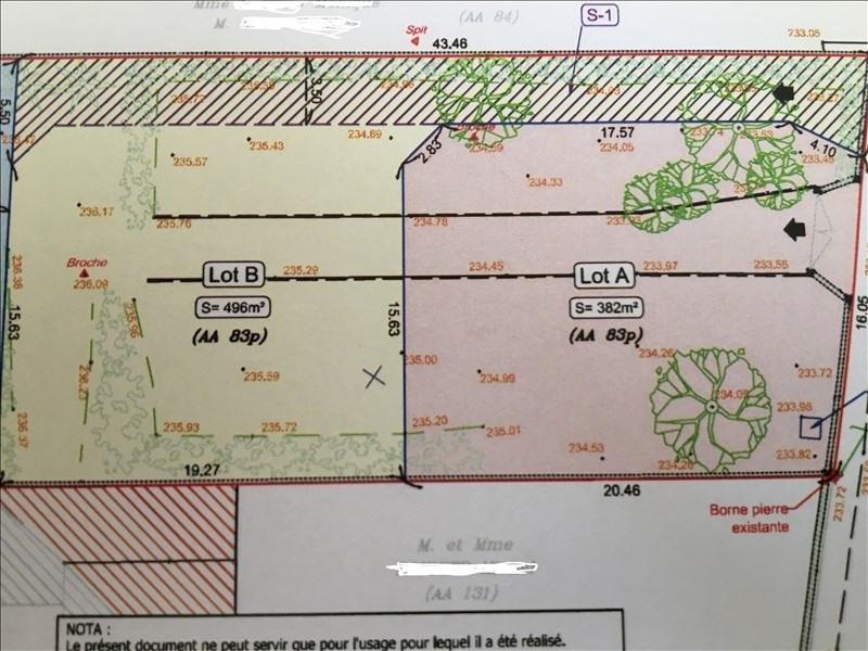 Vente terrain Frans 95000€ - Photo 1
