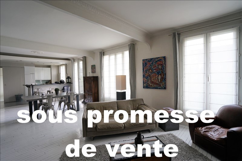 Sale apartment Asnieres sur seine 840 500€ - Picture 1