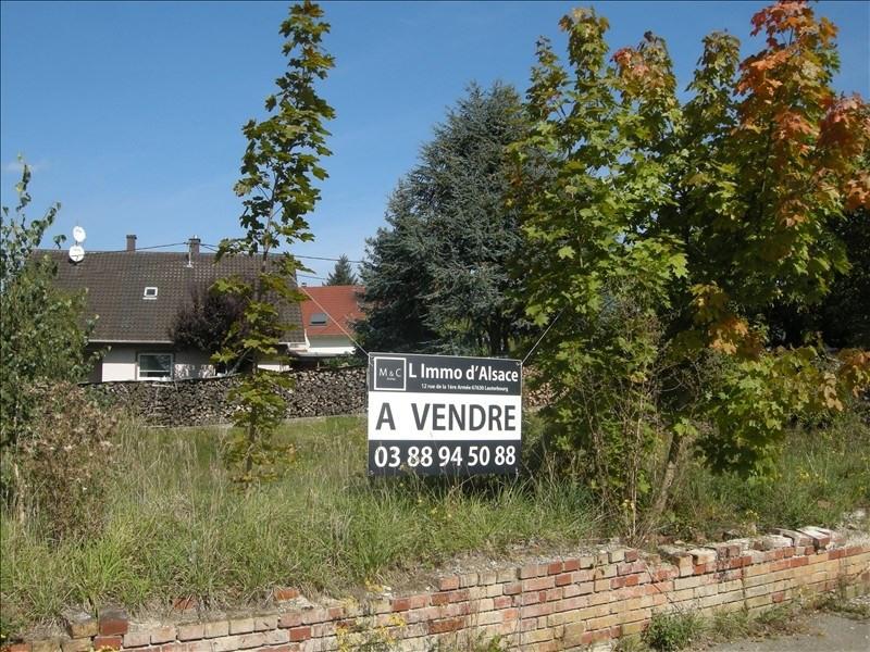 Verkauf grundstück Wissembourg 106379€ - Fotografie 1