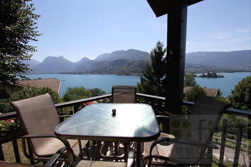Deluxe sale house / villa Talloires 1470000€ - Picture 1