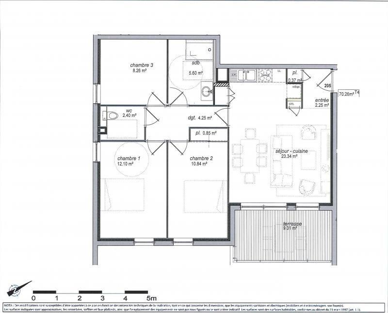 Sale apartment Jons 230672€ - Picture 1