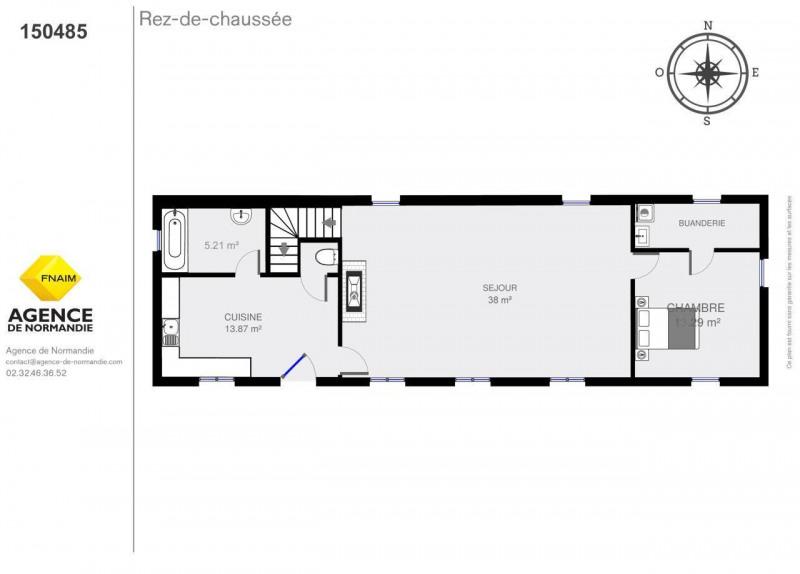 Vente maison / villa La ferte-frenel 150000€ - Photo 3