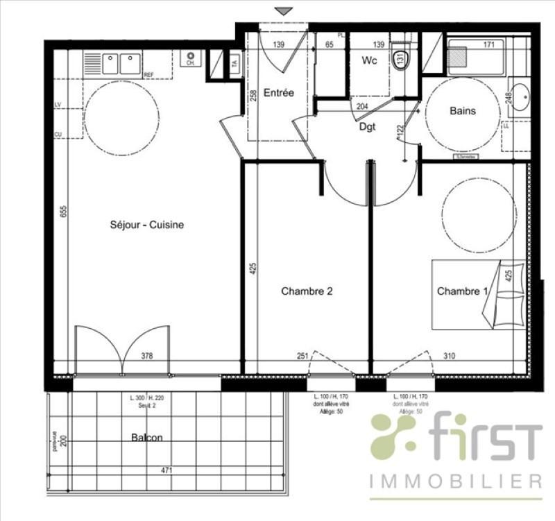 Vente appartement Annemasse 258000€ - Photo 3