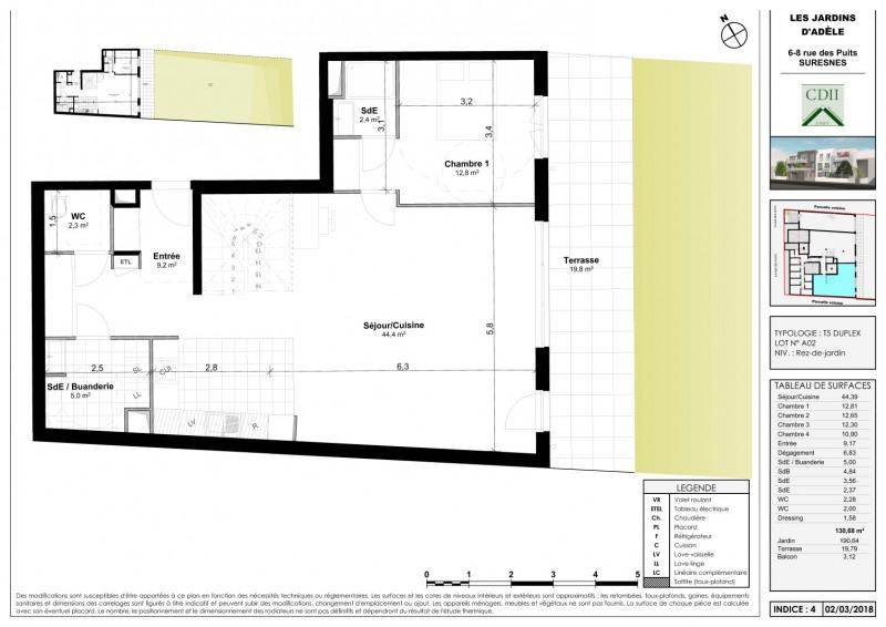 Sale apartment Suresnes 1080000€ - Picture 2
