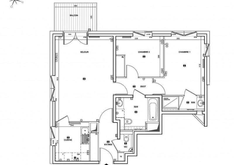 Vente appartement Boulogne-billancourt 665000€ - Photo 1