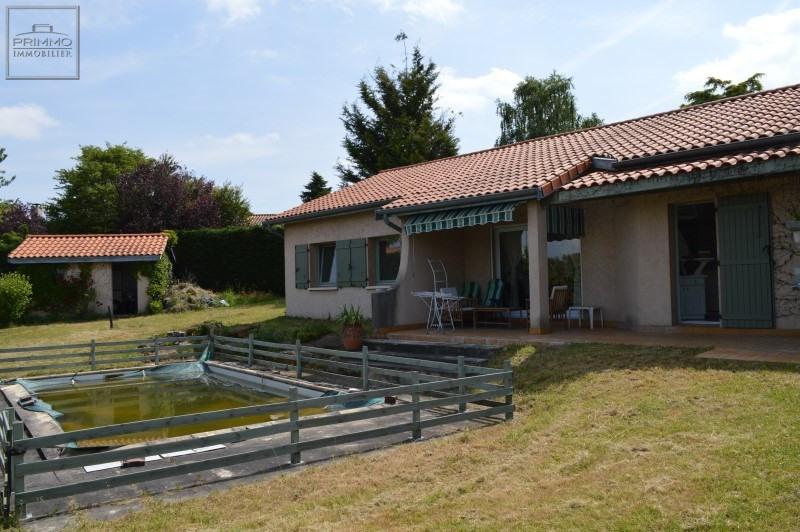 Sale house / villa Lissieu 432000€ - Picture 1
