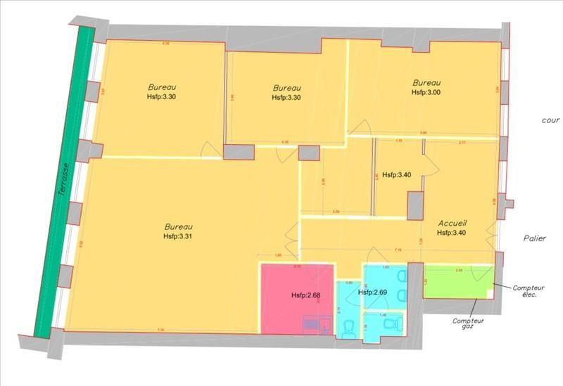 Location bureau Paris 2ème 5000€ +CH/ HT - Photo 3