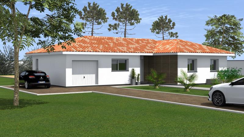 """Modèle de maison  """"Maison 4 pièces"""" à partir de 4 pièces Gironde par MAISONS CONFORECO - AGENCE ST PAUL LES DAX"""