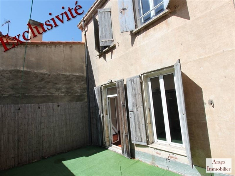 Vente maison / villa Rivesaltes 118 000€ - Photo 1