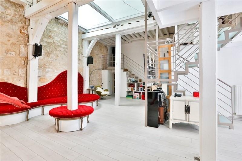 Vente de prestige appartement Paris 3ème 1495000€ - Photo 2