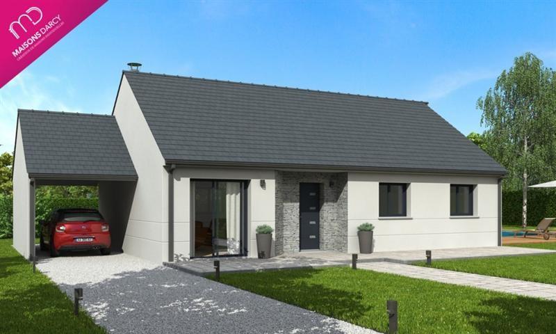 Maison  5 pièces + Terrain 900 m² Brazey en Plaine par MAISONS DARCY