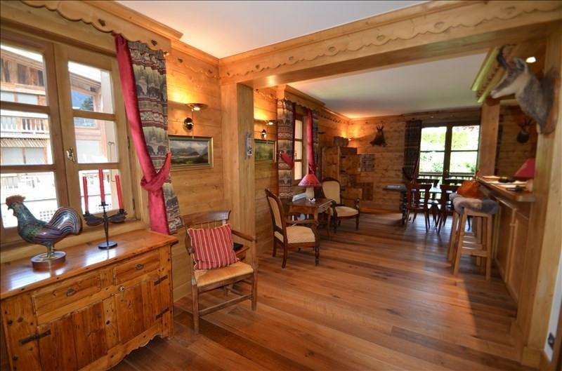 Vente de prestige appartement Megeve 1260000€ - Photo 2