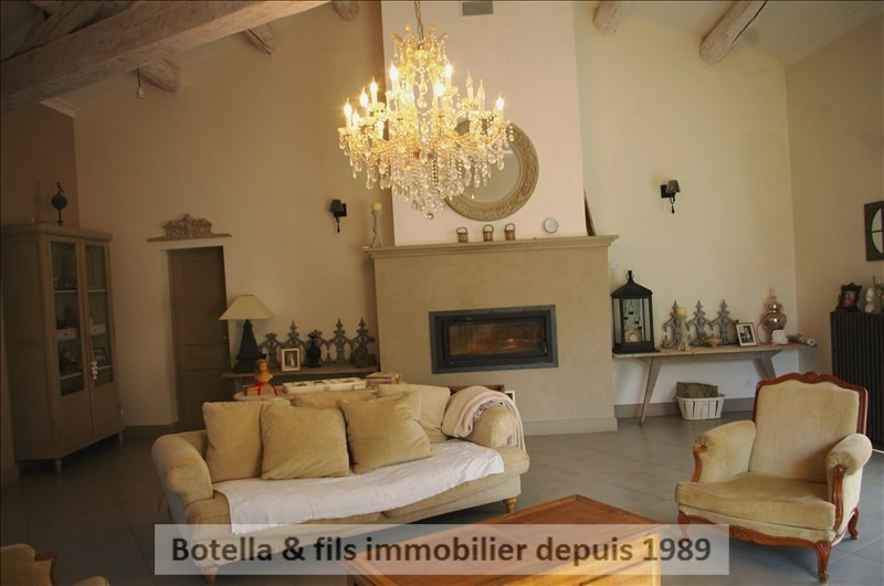 Vente maison / villa Goudargues 540 000€ - Photo 9