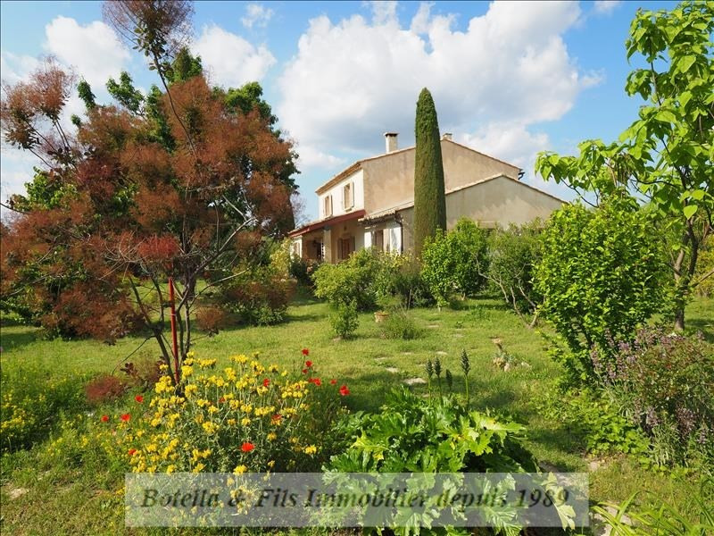 Deluxe sale house / villa Uzes 750 000€ - Picture 1