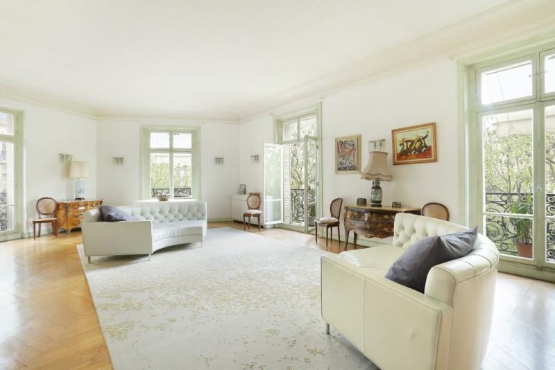 Vente de prestige appartement Paris 16ème 5460000€ - Photo 1