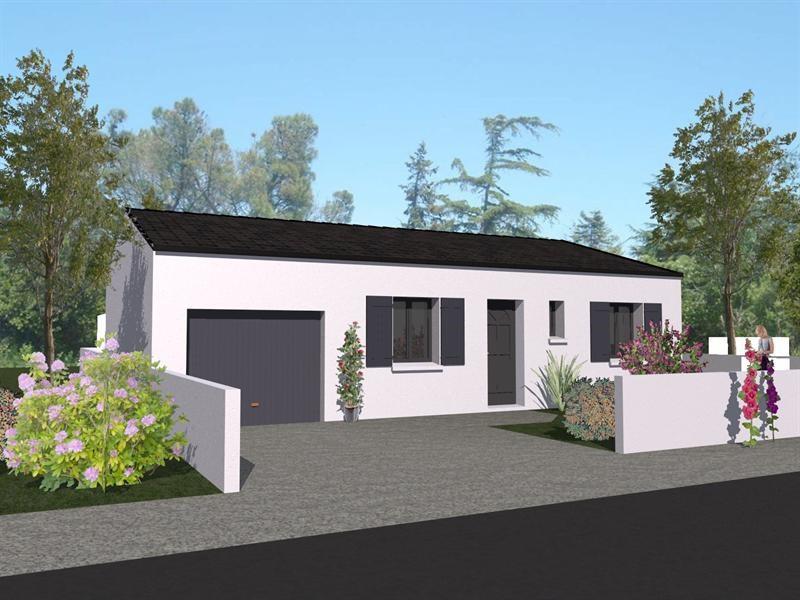 Maison  3 pièces + Terrain 385 m² Longèves (17230) par LES ARTISANS CONSTR CHARENTAIS