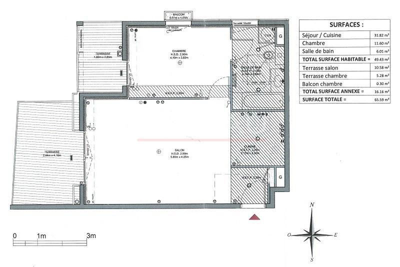 Vente de prestige appartement Juan-les-pins 375000€ - Photo 11