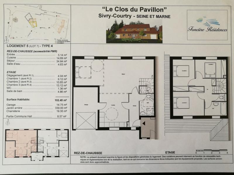 Location maison / villa Sivry courtry 1120€ CC - Photo 3