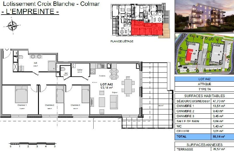 Vendita appartamento Colmar 280000€ - Fotografia 2
