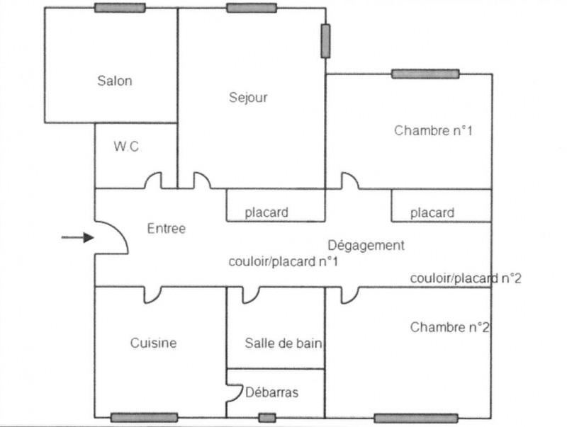 Vente appartement Crosne 139000€ - Photo 2