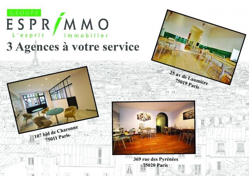 Deluxe sale apartment Paris 20ème 1599000€ - Picture 2