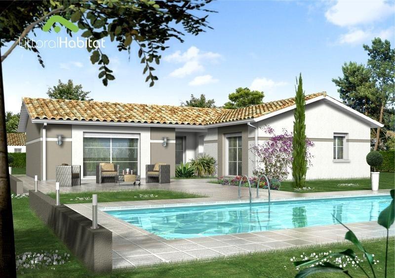 Maison  5 pièces + Terrain 740 m² Pontonx sur l'Adour (40465) par LITTORAL HABITAT