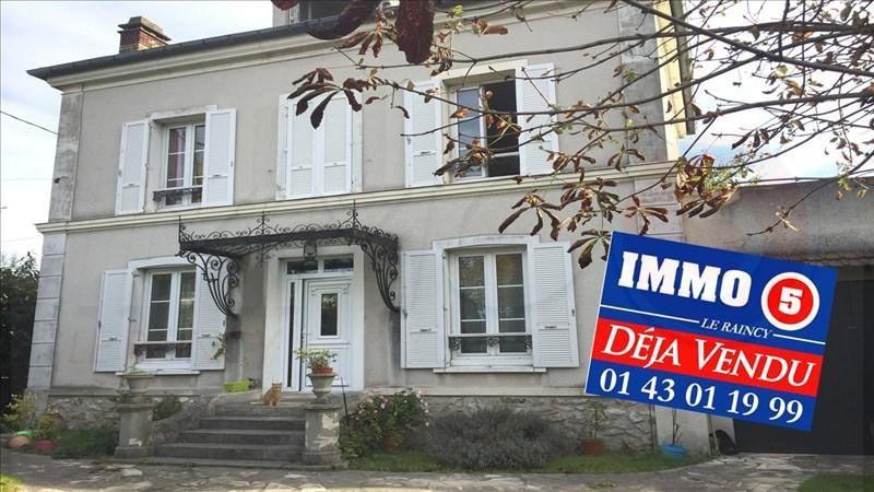 Vente maison / villa Le raincy 630000€ - Photo 1
