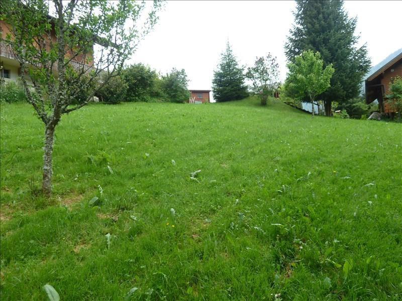 Vendita terreno Le biot 109000€ - Fotografia 2
