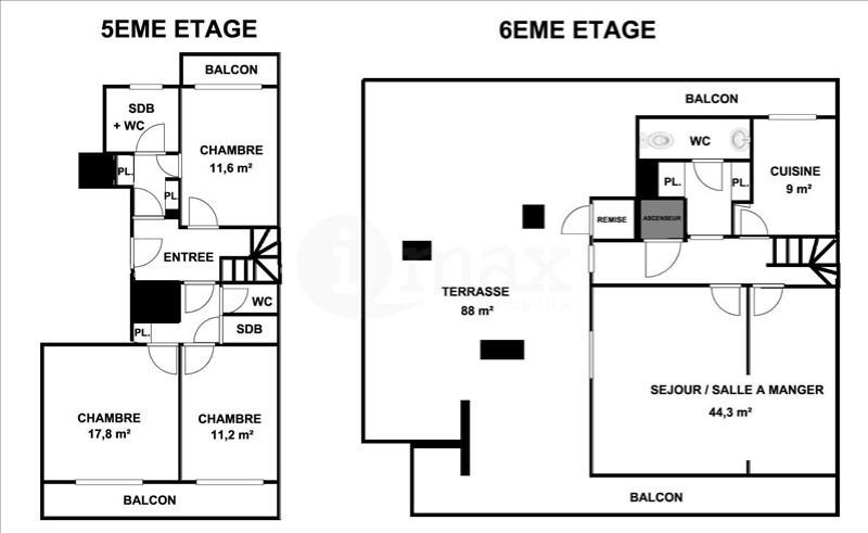Vente de prestige appartement Courbevoie 1095000€ - Photo 5