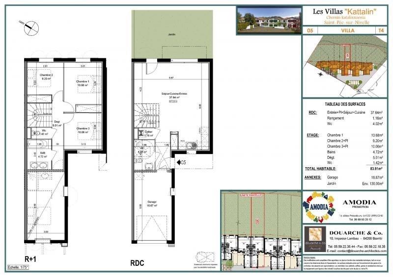 Sale house / villa St pee sur nivelle 248000€ - Picture 1