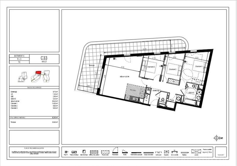 Sale apartment Montpellier 429000€ - Picture 2