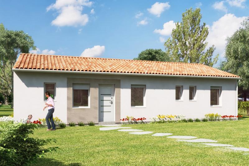 """Modèle de maison  """"Ohana - modèle de maison 3 pièces"""" à partir de 3 pièces Dordogne par MAISONS DEN FRANCE NOUVELLE AQUITAINE"""
