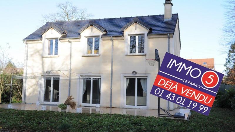 Vente maison / villa Le raincy 699000€ - Photo 1