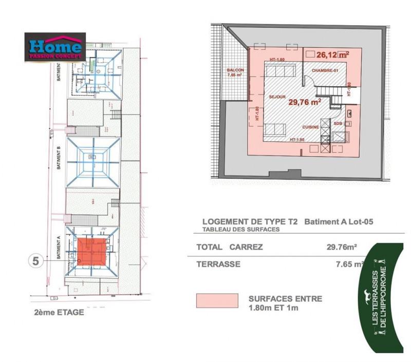 Sale apartment Rueil malmaison 213287€ - Picture 2
