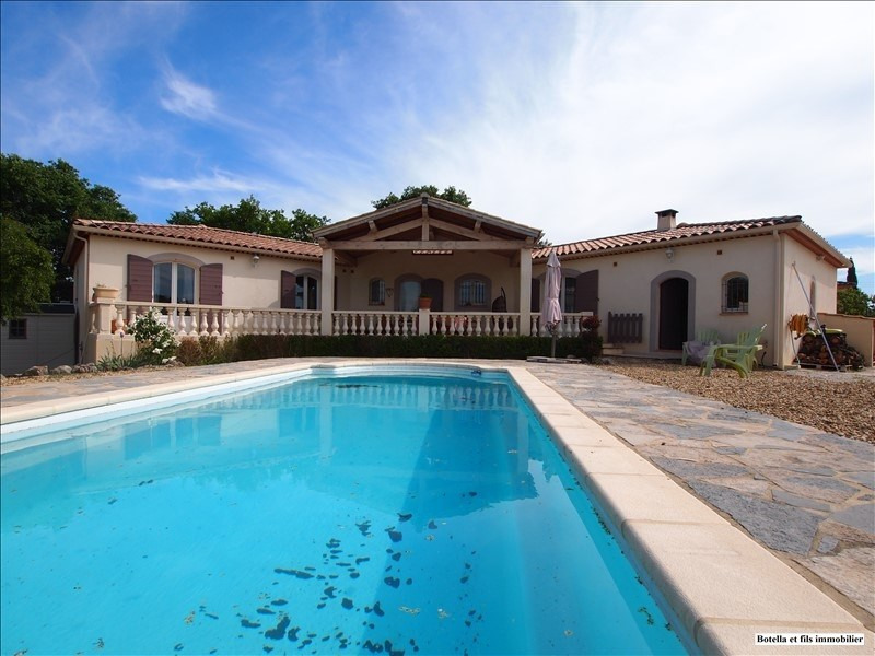 Sale house / villa Uzes 385000€ - Picture 1