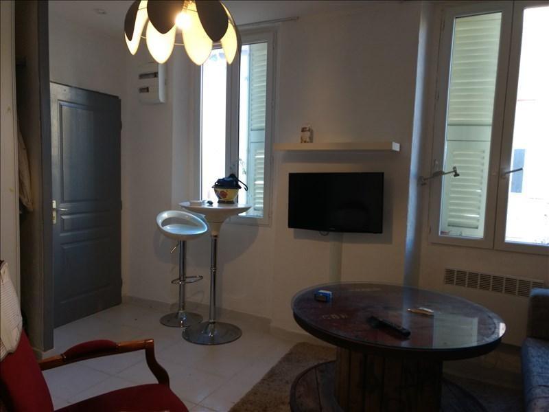 Locação apartamento Le golfe juan 470€ CC - Fotografia 6