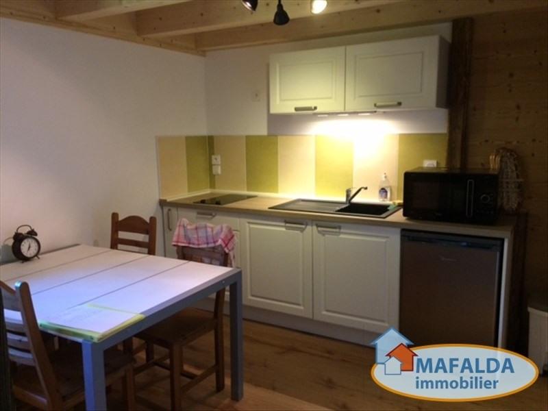 Location appartement Mont saxonnex 800€ CC - Photo 1