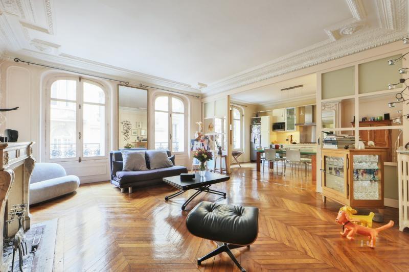 Vente de prestige appartement Paris 17ème 1550000€ - Photo 2