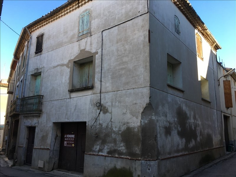 Sale house / villa Le pouget 95 000€ - Picture 1