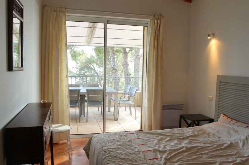 Vacation rental house / villa Cavalaire sur mer 1 500€ - Picture 22