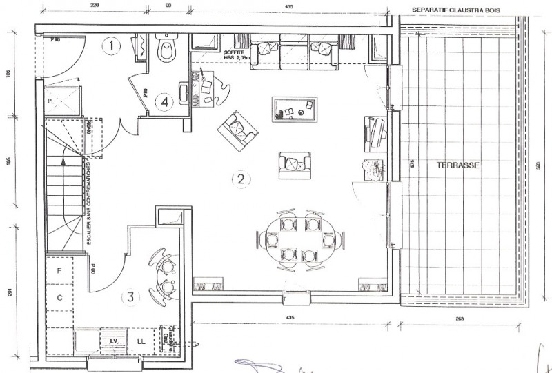 Vente appartement Villeneuve-la-garenne 342990€ - Photo 4