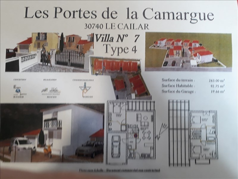 Vente maison / villa Le cailar 227000€ - Photo 1