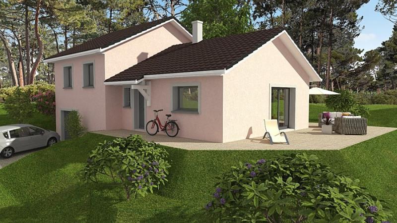 """Modèle de maison  """"Modèle de maison 5 pièces"""" à partir de 5 pièces Isère par Maisons TIP TOP"""