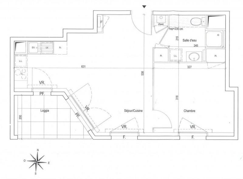 Vente appartement Villeurbanne 170000€ - Photo 2